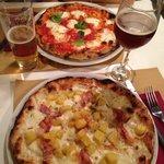 Margherita sbagliata & pizza patate