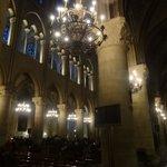 Dentro da Catedral
