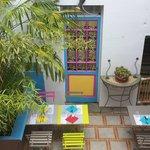 Notre patio 2014 ambiance de déjeuner