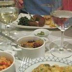 Dinner at Mesa De Frades