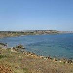 La spiaggia a due passi da Capo Colonna
