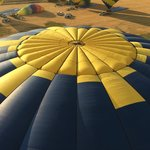 Top of another balloon as we sailed by
