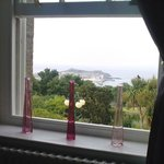 View from bedrooom window of St Ives