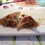 dry meat dumplings