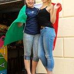 Misses Liberty from Washington DC - Ocie and Sophia