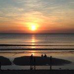 Sunset from Intercontinental beach