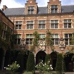 Le musée Platin-Moretus : le jardin