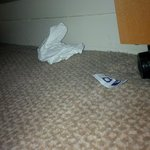Rubbish under the bed