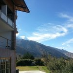 Andes view from the lodge