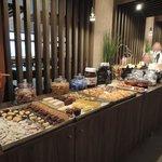 Buffet dolce per la colazione