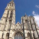 Cathédrale Notre-Dame d'Anvers : la façade