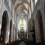 Cathédrale Notre-Dame d'Anvers : la nef et le choeur