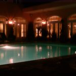 Monteleone Roof top Pool at night !!