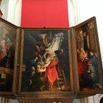 """Cathédrale Notre-Dame d'Anvers : """"La Descente de la Croix"""", de Rubens"""