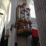 Cathédrale Notre-Dame d'Anvers : l'orgue de la croisée du transept