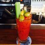 Bloody Mary upper deck bar