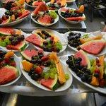 portata di frutta di stagione