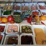 Deilig frokost, med blant annet Norges beste tomatsild