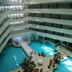 View inside hotel