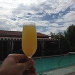 Cheers poolside!