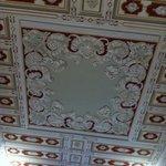 Chambre 122 : le plafond