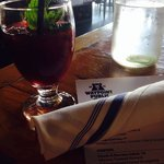 House sangria at Waypoint Public