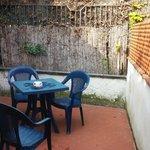 Studio apartment terrace