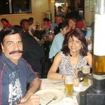 16th June 2013 at Leopold with Deepa, Bombay