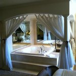 In-suite Jacuzzi