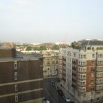 View from room 866 Copthorne Tara London Kensington