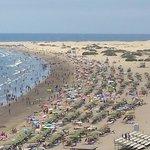 La plage et les dunes a 5 min de l hotel