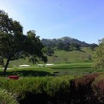 View of golf course from 19th hole