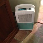 The noisy dehumidifier that served as 'air conditioning'