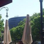 Vom Kurfürstendamm - Blick zum Hotel