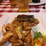 Kívánságra Átsütve - Beefsteak Hugarian-style with tomato and paprika ragout