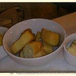 Croutons und Rouille zur Bouillabaisse
