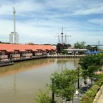 View from room -  Maritime Museum of Malacca & Taming Sari Tower