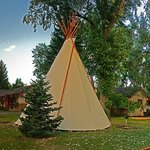 We have Tipi Lodging available for $10 person, We Have Tent Camping, and a RV Park Too