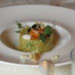 Stampferdäpfel mit Kaviar