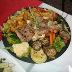 Just one of our tapas courses - a true taste sensation