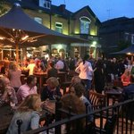 Beer garden in full swing this summer