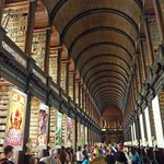 Trinity College library feels like something from Harry Potter