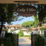 Entrance to lake villas