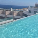 Roof top pool. Not a great picture