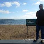 David na Playa Mansa.