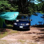 CRESCENT LAKE CAMPGROUND, SITE#6, JULY 2014.