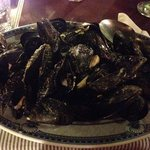 mussels...