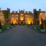 Eynsham Hall when we arrived