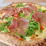 Pizza Mezzaluna Foto