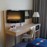Doppelzimmer mit Blick Richtung Frankfurter Flughafen